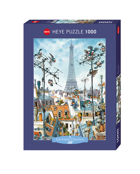 1000 pieces - Loup Eiffel Tower