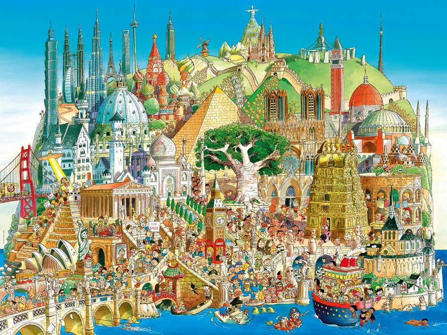 Global Parade Jigsaw Puzzle (1500 pieces) - Heye