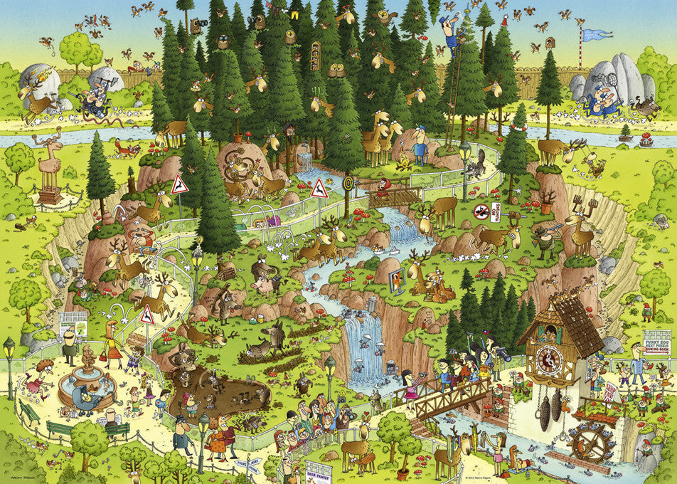 29638 Black Forest Habitat 1000 pieces Heye Jigsaw Puzzle