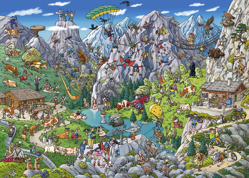 29680 Alpine Fun Heye 1000 pieces Jigsaw Puzzle
