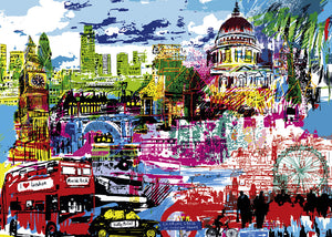 29682 I Love London! Heye 1000 pieces Jigsaw Puzzle