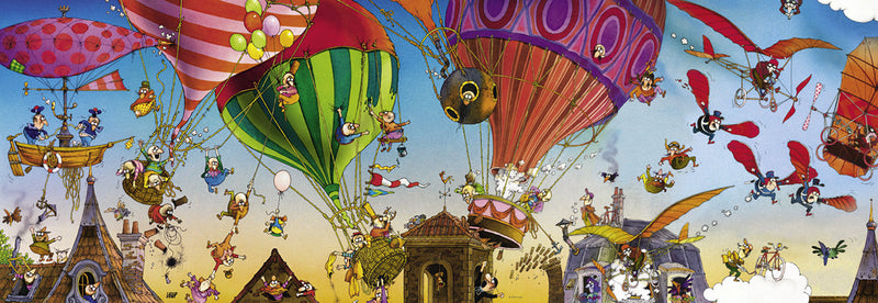 29756 Loup, Ballooning 1000 pieces Jigsaw Puzzle Heye