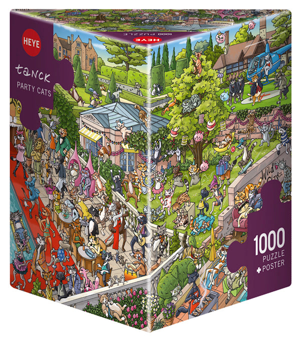 1000 pieces - Tanck - Party Cats
