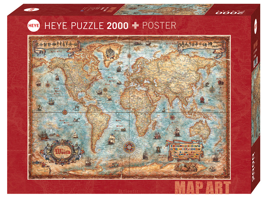 2000 pieces - The World