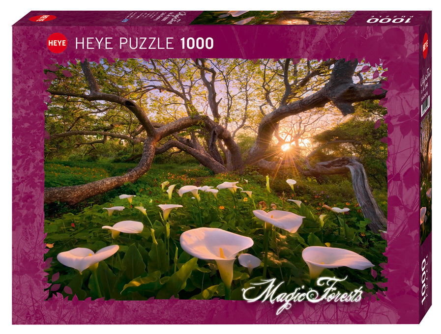 1000 pieces - Magic Forests - Calla Clearing