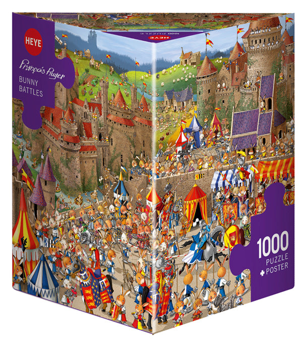 1000 pieces - Ruyer - Bunny Battles