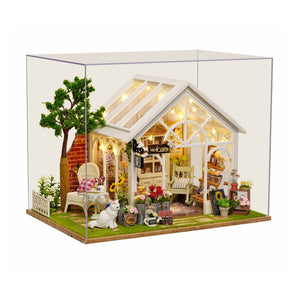 Large Miniature Dollhouse - Sunshine Greenhouse