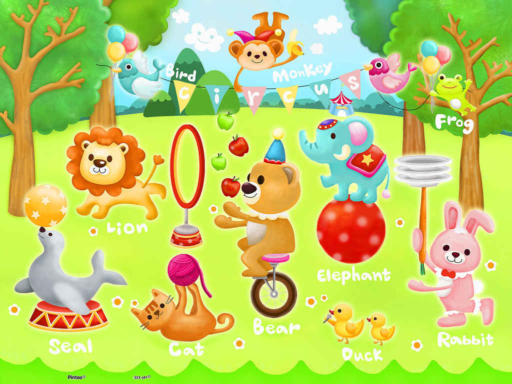 Circus in the Forest 48 pcs jigsaw puzzle pintoo