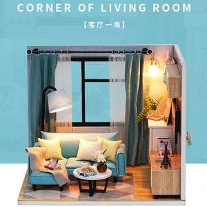 Miniature Room Scenes - Living Room