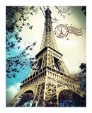 Eiffel Tower 500 pieces Plastic Jigsaw Puzzle
