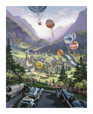 500 pieces Jigsaw Puzzle_Michael Young_Up up and Away_Pintoo