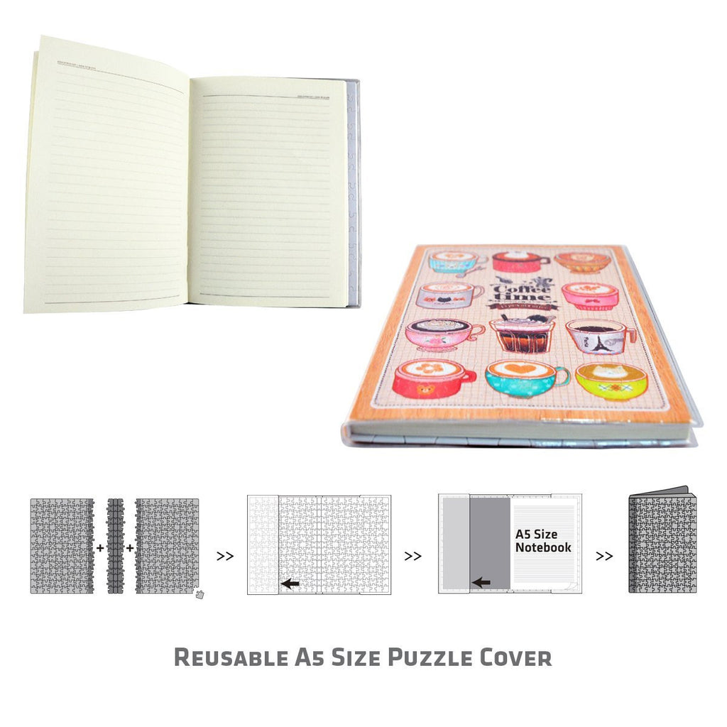 Puzzle Notebook Cover - France