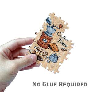 Y1023 Bibliodame Notebook Puzzle Cover