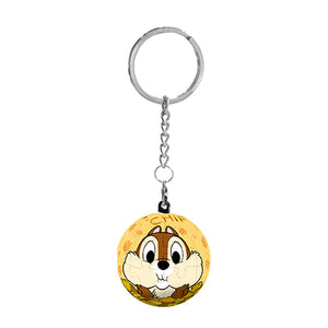 Puzzle Keychain (24 pieces) - Chip 'n Dale