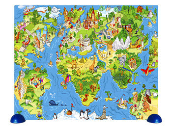 All around the World 80 pieces Pintoo Junior