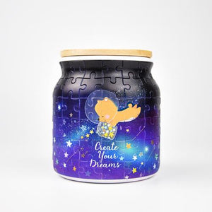 Jigsaw Puzzle Jar - Create your dreams