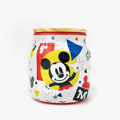 Jigsaw Puzzle Jar - Mickey