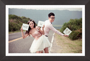 Personalise Jigsaw Puzzle (Wedding Picture)