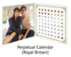 Customised Puzzle Calendar 200 pieces_Royal Brown