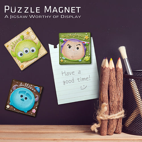 Puzzle Magnet Combo (96 pieces) - Tsum Tsum - Matcha Chocolate