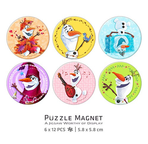 Puzzle Magnet Combo (96 pieces) - Frozen