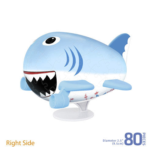Jigsaw Puzzle Plane (3D) The Shark Plane
