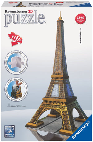 3D Eiffel Tower Puzzle (Ravensburger)