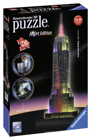 3D Empire State Building Puzzle (Ravensburger)