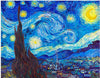 Vincent Van Gogh - Starry Night 1889 Plastic Jigsaw Puzzle