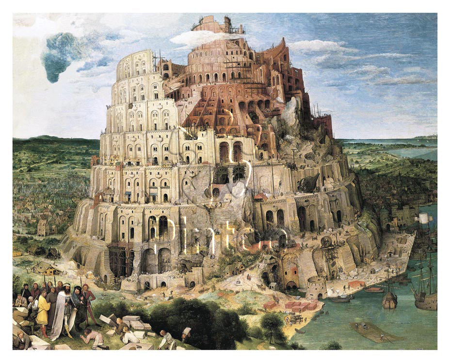Bruegel - Tower of Babel, 1563
