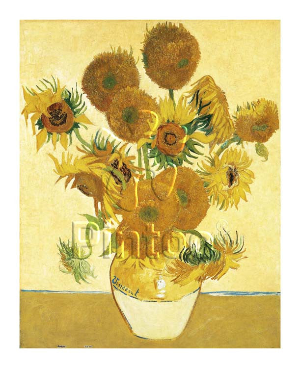 Vincent Van Gogh Sunflowers 500 pieces Jigsaw Puzzle
