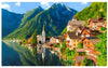 Lakeside Village of Hallstatt, Austria 1000 pcs Jigsaw Puzzle