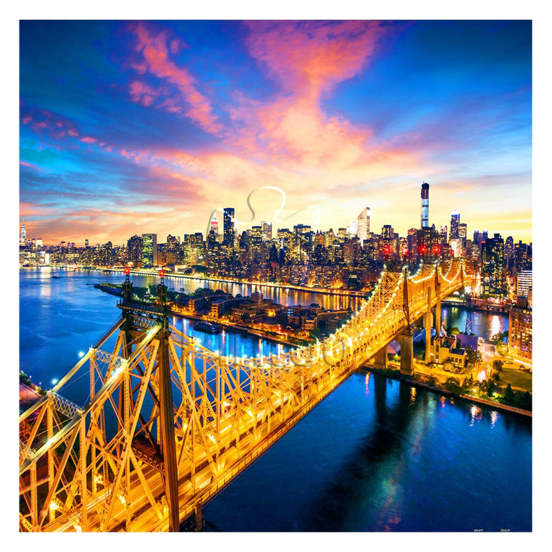 Manhattan, New York 1600 pieces jigsaw puzzle (Pintoo)