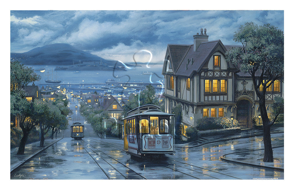 1000 pieces - Evgeny Lushpin - Evening Journey