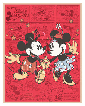 2000 pieces - Mickey Mouse Family - Classic Mickey & Minnie