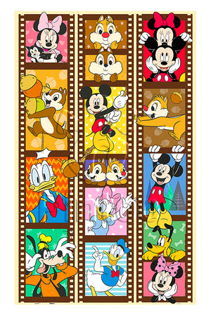 Mickey & Friends 1000 pieces Jigsaw Puzzle Pintoo