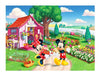 300 pieces - Mickey Mouse Family - The Secret Garden