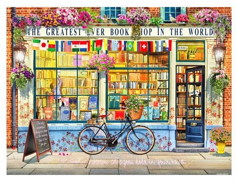 Garry Walton - Greatest Bookshop In The World 1200 pieces jigsaw puzzle pintoo
