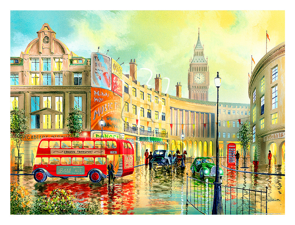 Ken Shotwell - Morning in London 1200 pieces jigsaw puzzle pintoo