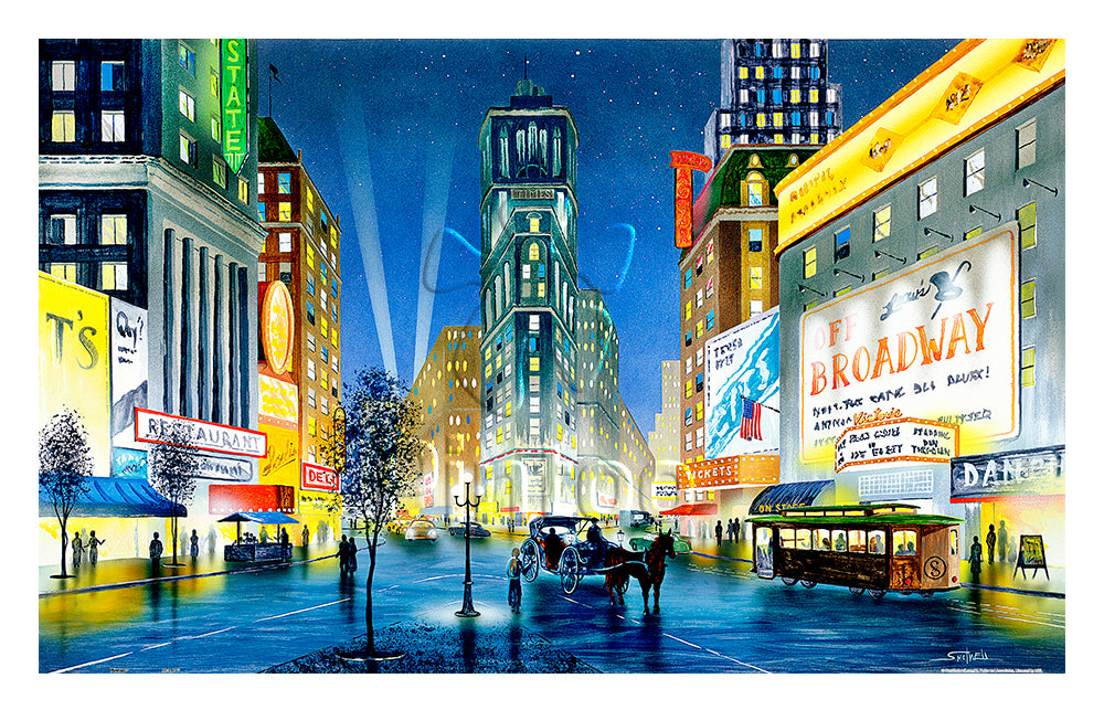 Ken Shotwell - Night in New York 1000 pieces Jigsaw Puzzle Pintoo