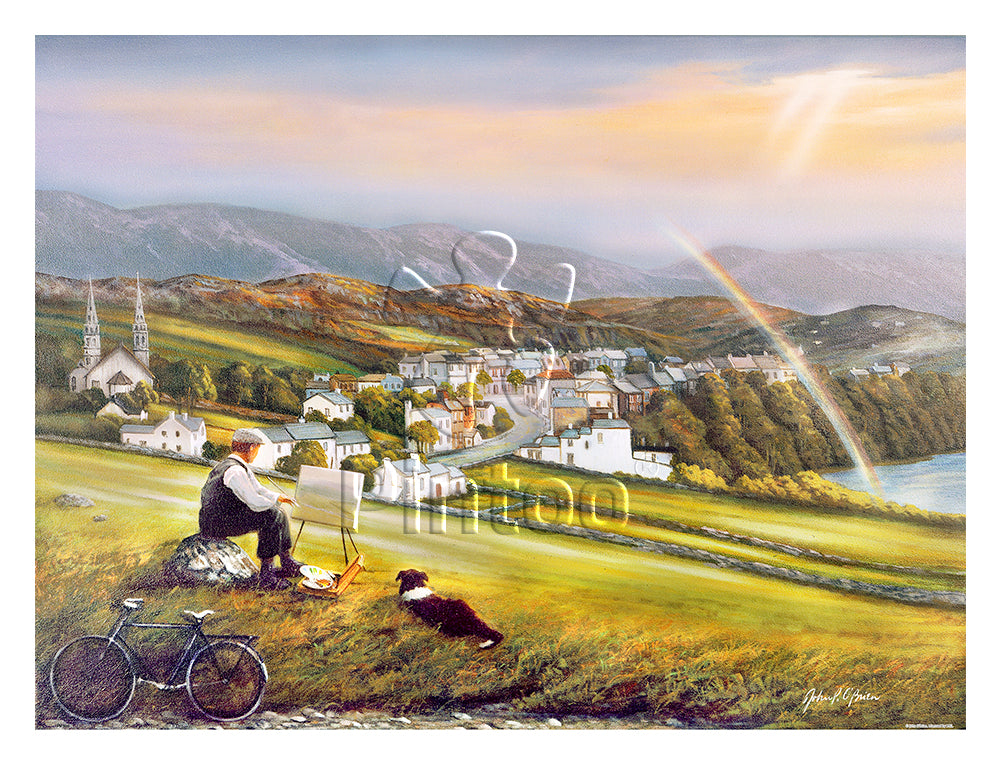 John O'Brien - Irish Landscape 1200 pieces jigsaw puzzle pintoo