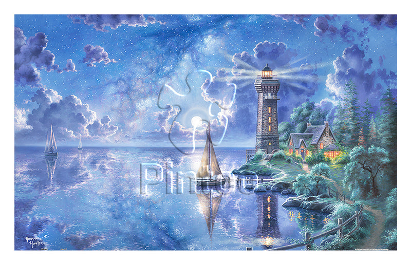 Abraham Hunter - Light of Peace 1000 pieces Jigsaw Puzzle Pintoo H2017