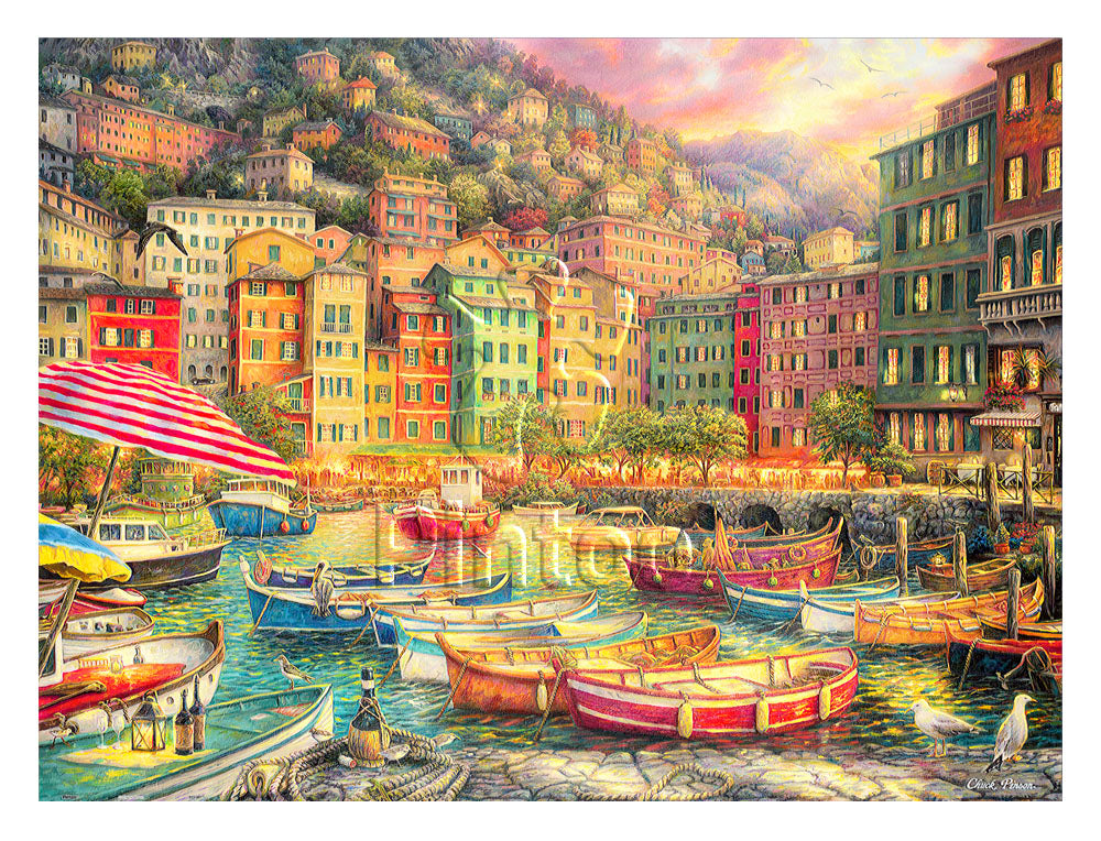 Chuck Pinson - Vibrance of Italy 1200 pieces jigsaw puzzle Pintoo H2057