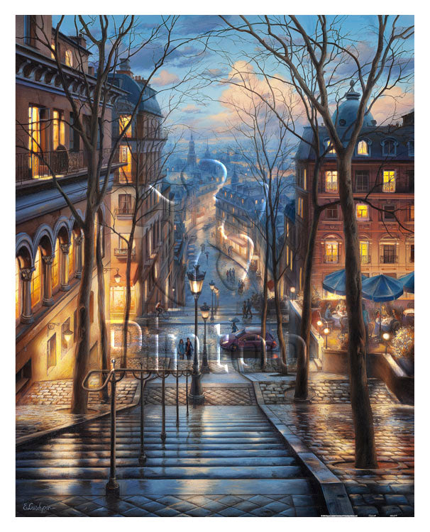 2000 pieces - Evgeny Lushpin - Montmartre Spring
