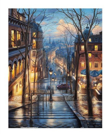 500 pieces - Evgeny Lushpin - Montmartre Spring