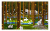 Pintoo H2075 SMART - Polar Bears in the Forest 1000 pieces Jigsaw Puzzle