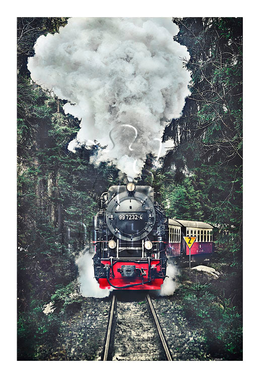 600 pieces - The Steam Train, Switzerland
