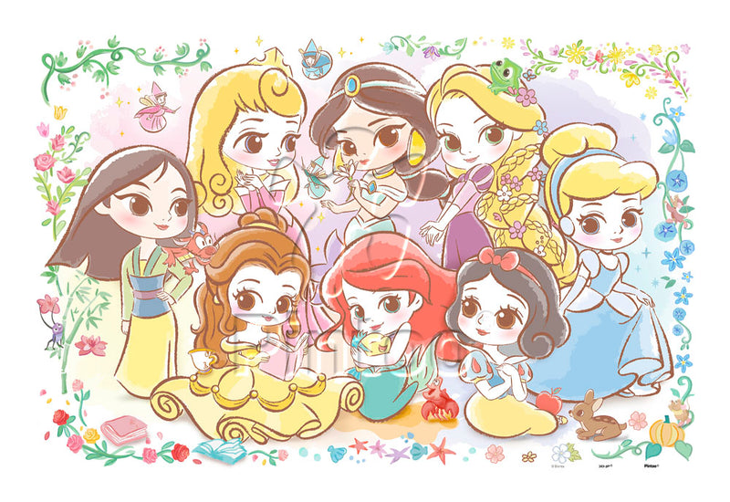 600 pieces - Disney Princess - Lovely Princesses