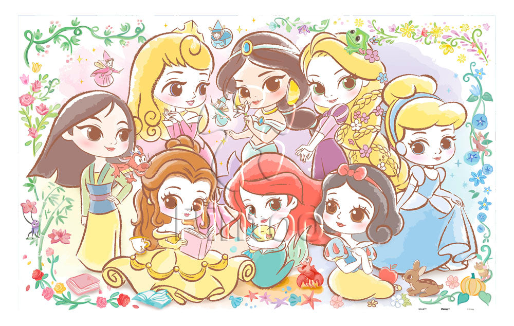1000 pieces - Disney Princess - Lovely Princesses