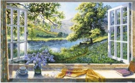 Stephen Darbishire - Bluebells 1000 pieces Jigsaw Puzzle Pintoo H2198
